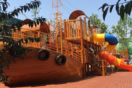 户外游乐海盗船