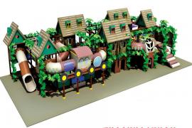 森林房屋系列淘气堡FEF-070A