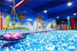 室内淘气堡百万海洋球