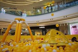 黄色百万海洋球