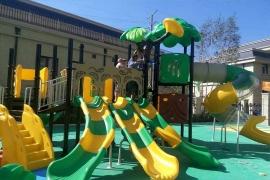 幼儿园组合滑梯