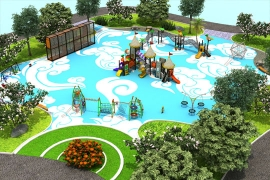 户外综合儿童游乐设施