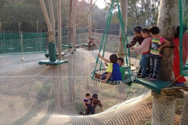 儿童户外拓展游乐设施