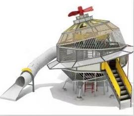 宇宙飞船功能性滑梯