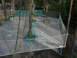 非标定制户外拓展攀爬网设施