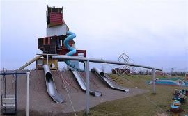 公园不锈钢滑道